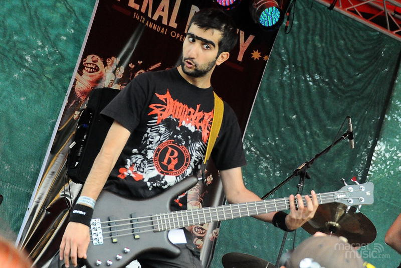 Nuclear Monstrosity at Fekal Party 2012